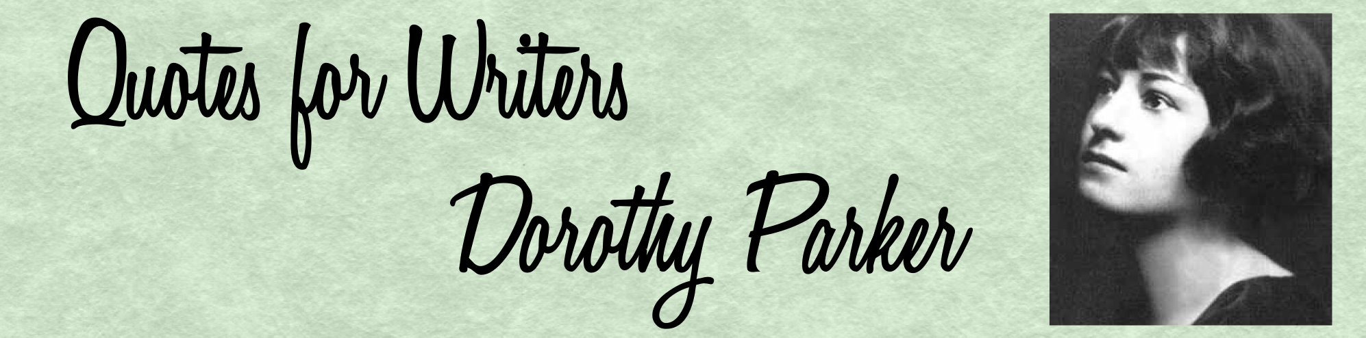 dorothy parker writing style